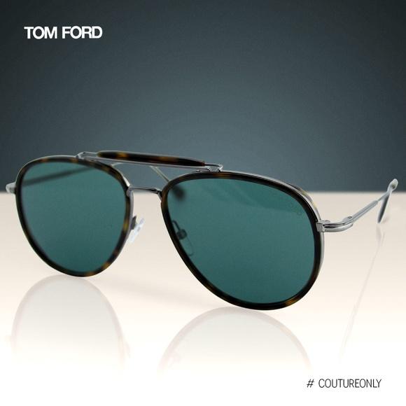 fbc315e3c6042 New 2019 TF Tripp FT0666 Aviator Pilot Sunglasses. Boutique. Tom Ford